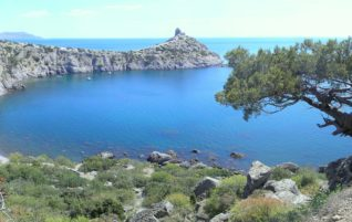 Голубая бухта. Царский Пляж