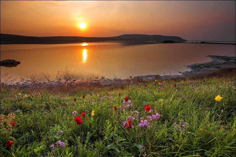 крымский восход солнца фото при ближайшем